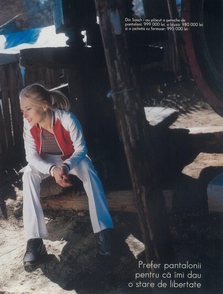 Delia - fotografie de colectie din 2001