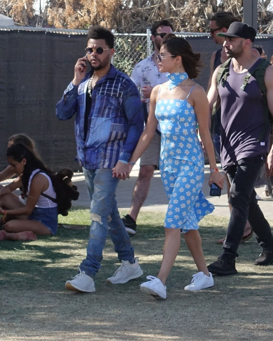 EXCLUSIVE: Get a room! Selena Gomez and The Weeknd turn up the PDA at Coachella