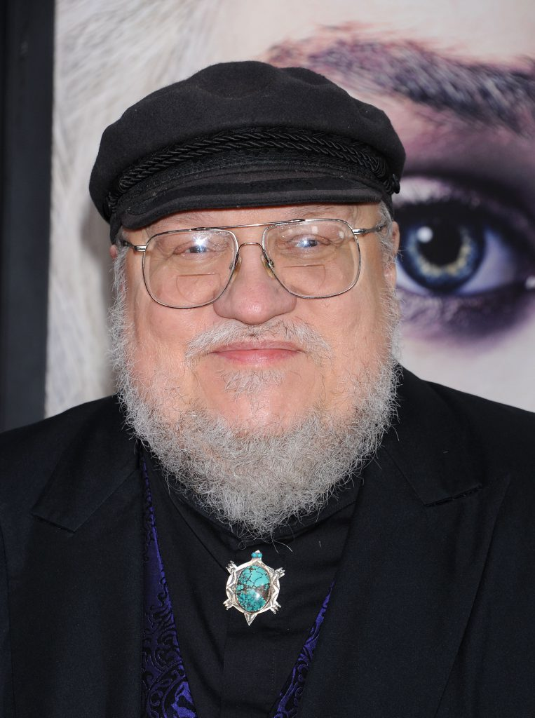 George R. R. Martin scriitor game of thrones