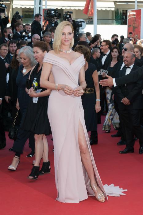 Cele mai frumoase rochii de la Cannes 2017 - Uma Thurman
