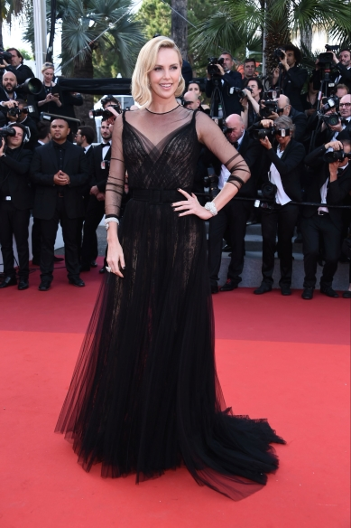 Charlize Theron Cannes