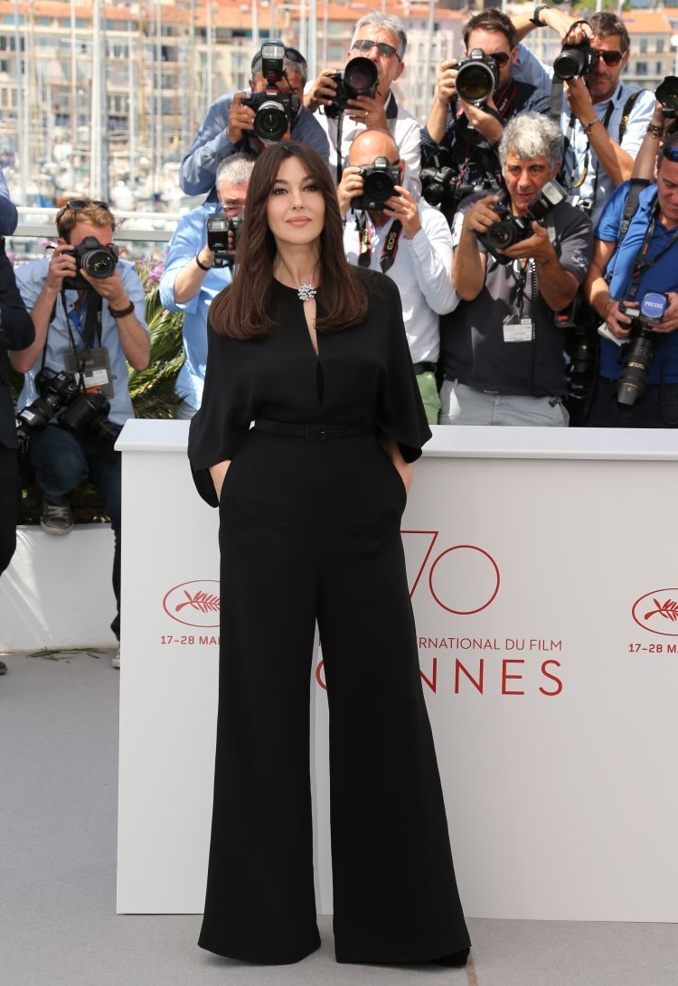 Monica Bellucci la Cannes 2017