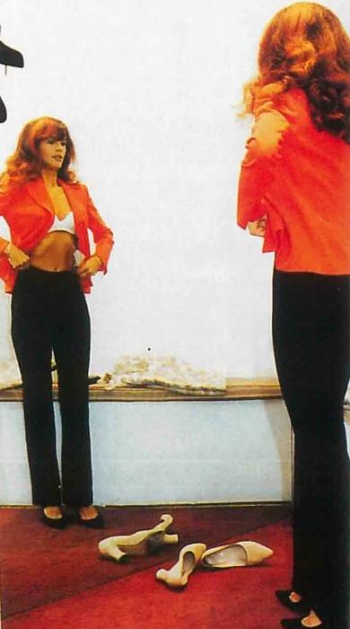 Madalina Manole - fotografie din Unica (decembrie 1997)