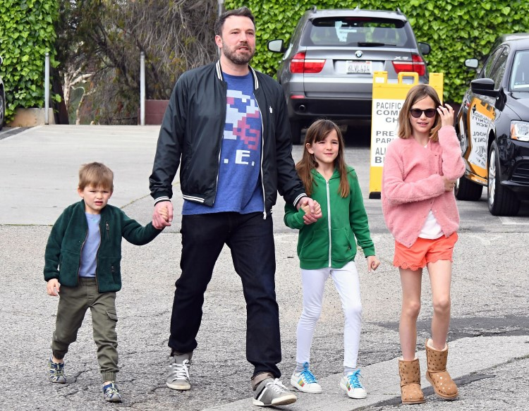 Ben Affleck si copiii