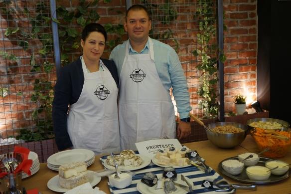 Familia care face brânzeturi franțuzești la doi pași de capitală