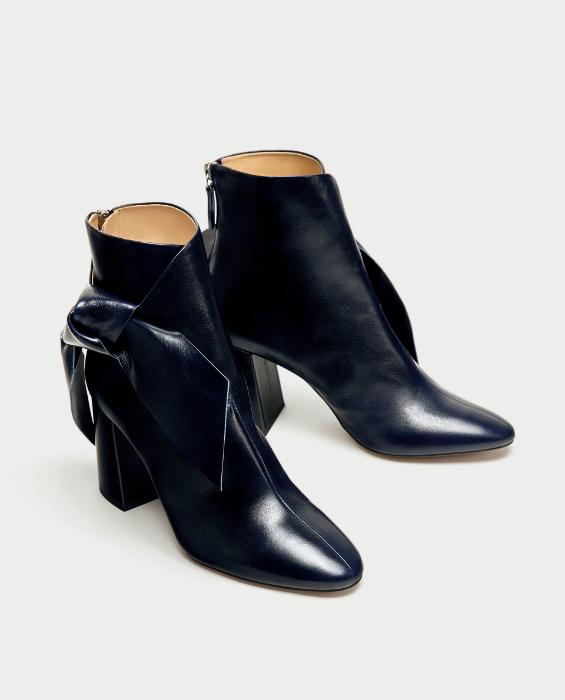 Botine toamna 2017 Zara