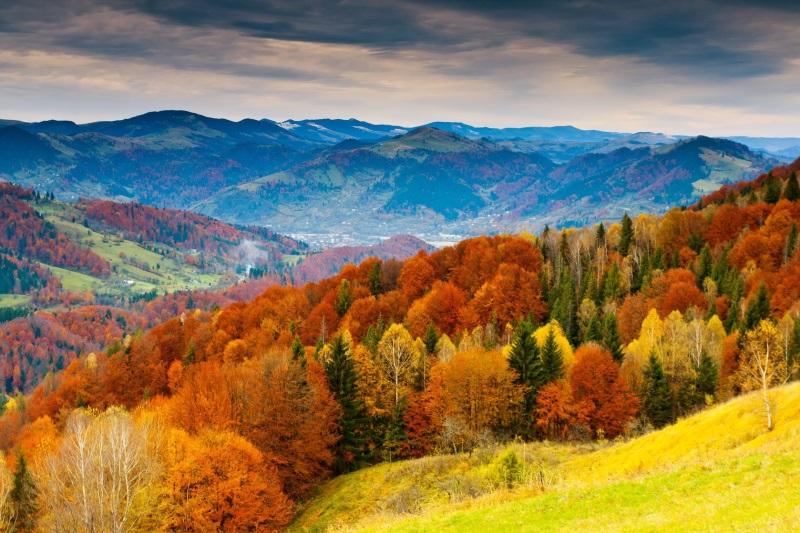 imagini de toamna, toamna in munti