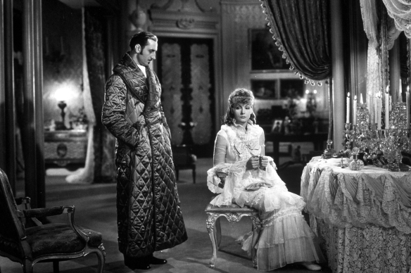 "Greta Garbo si Basil Rathbone in ""Anna Karenina"" (1935)"