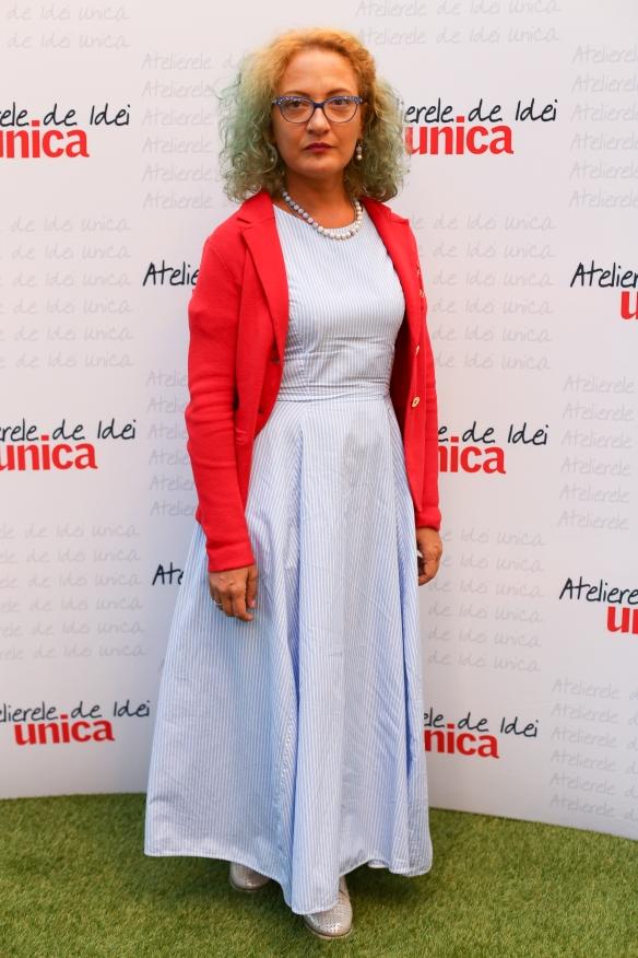Mirela Vescan la Atelierele de Idei Unica