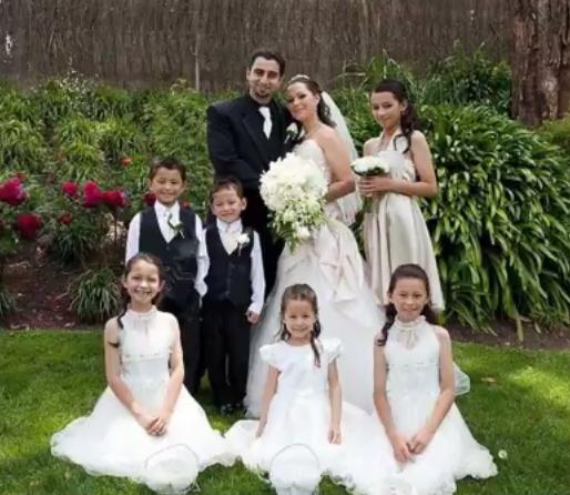 Sharon Jabbour la nunta ei