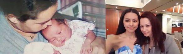 Sharon Jabbour si fiica ei