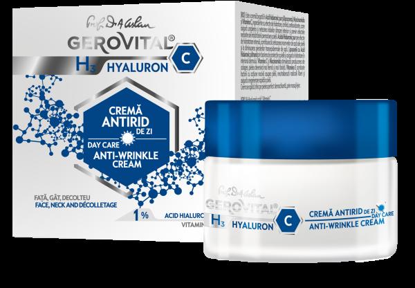 crema de zi cu acid hialuronic