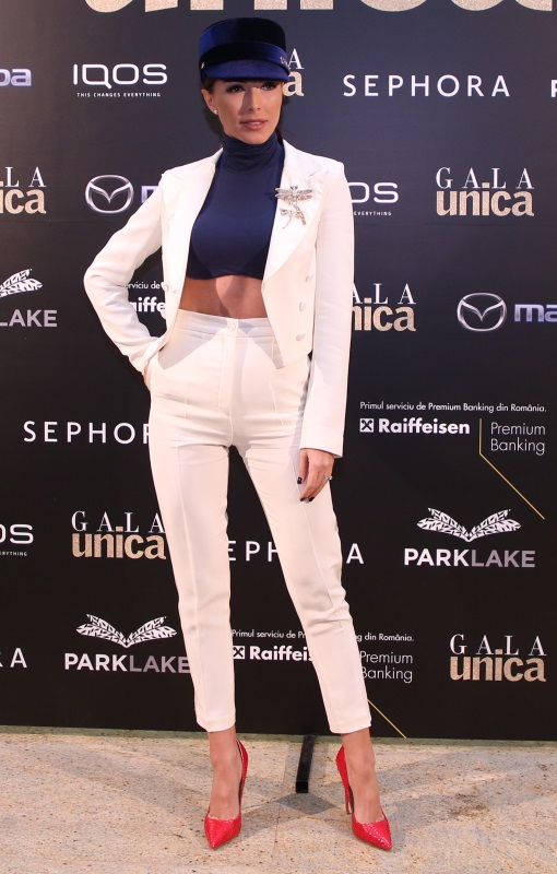 Trei vedete care au purtat alb la Gala Unica 2017