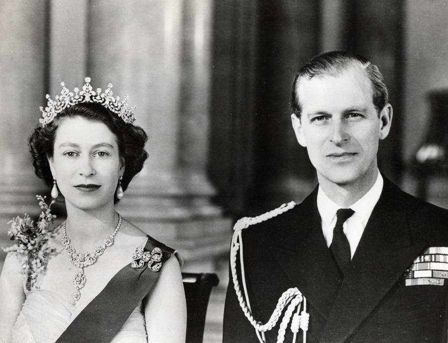 Printul Philip si Regina Elisabeta 2