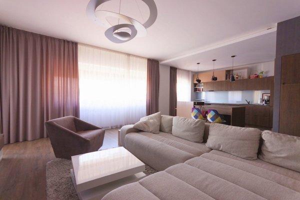 Apartament decorat de designer