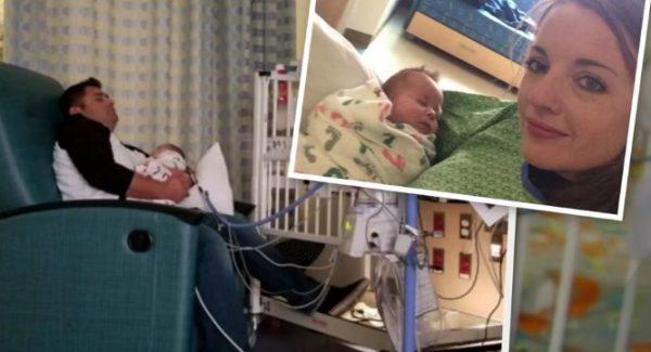 bebelusul in spital cu politistii