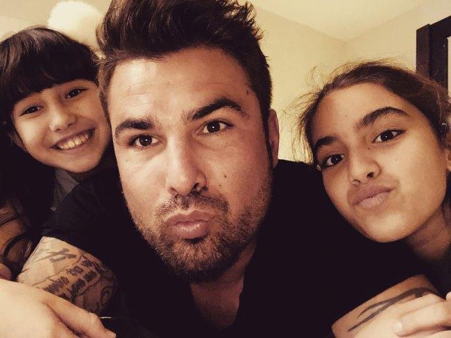 Adrian Mutu, Adriana Lea și Maya Vega
