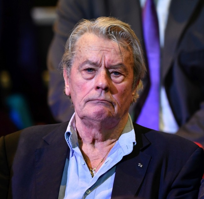 Alain Delon, in 2016