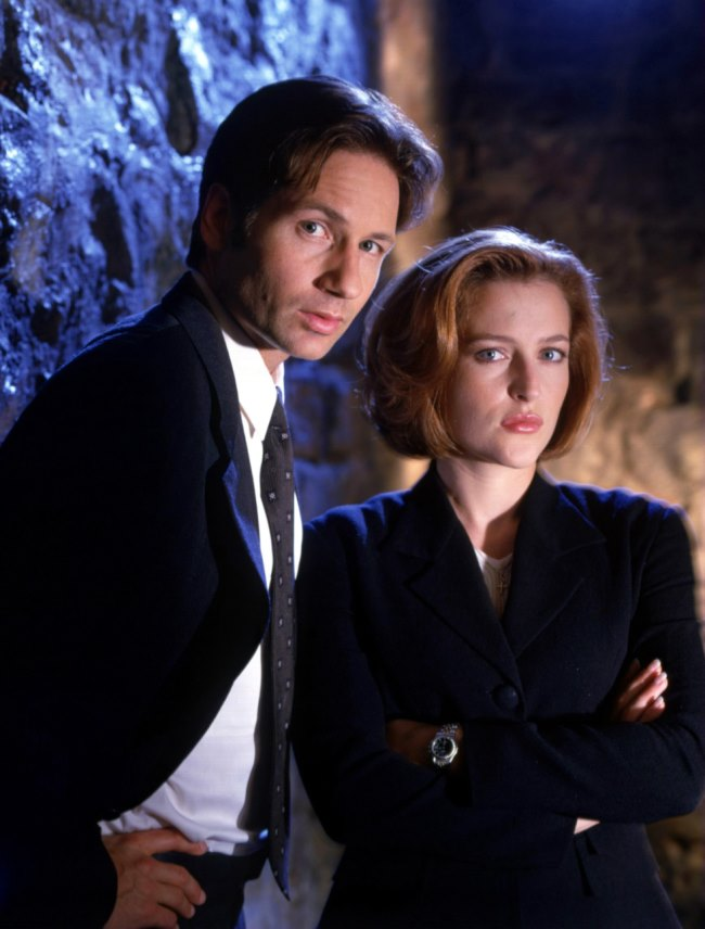 Dana Scully si Fox Mulder- Dosarele X