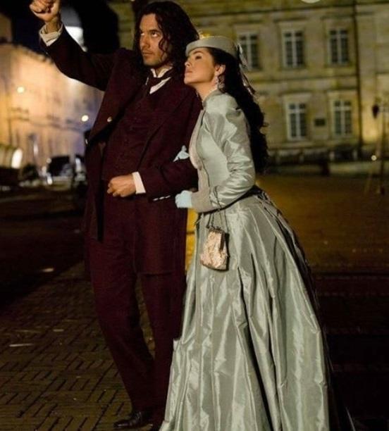 Danna Garcia si Mario Cimarro in telenovela La traicion