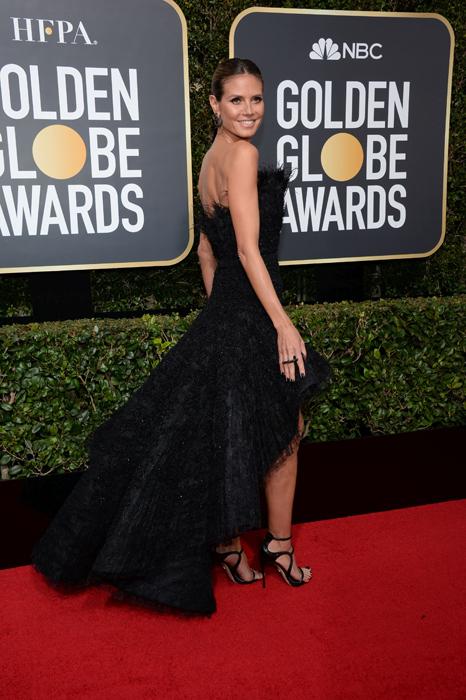 Heidi Klum #TimesUp Globurile de Aur
