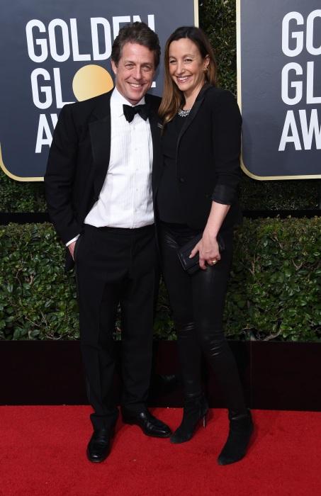 Hugh Grant si Anna Eberstein