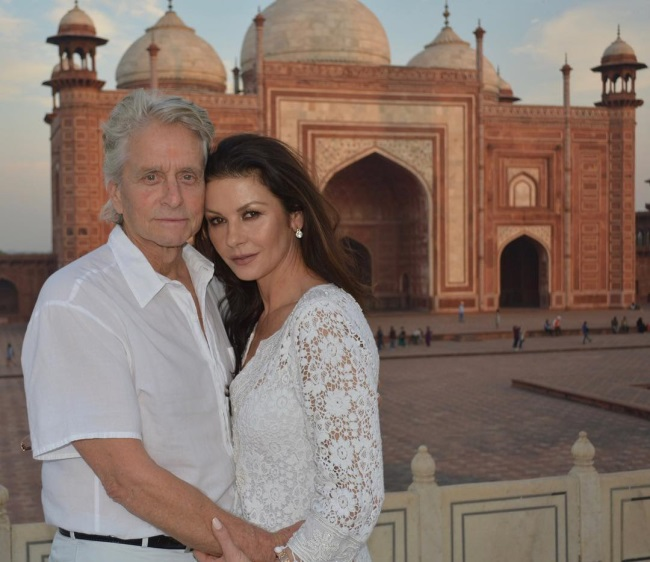 Michael Douglas si Catherine zeta-jones