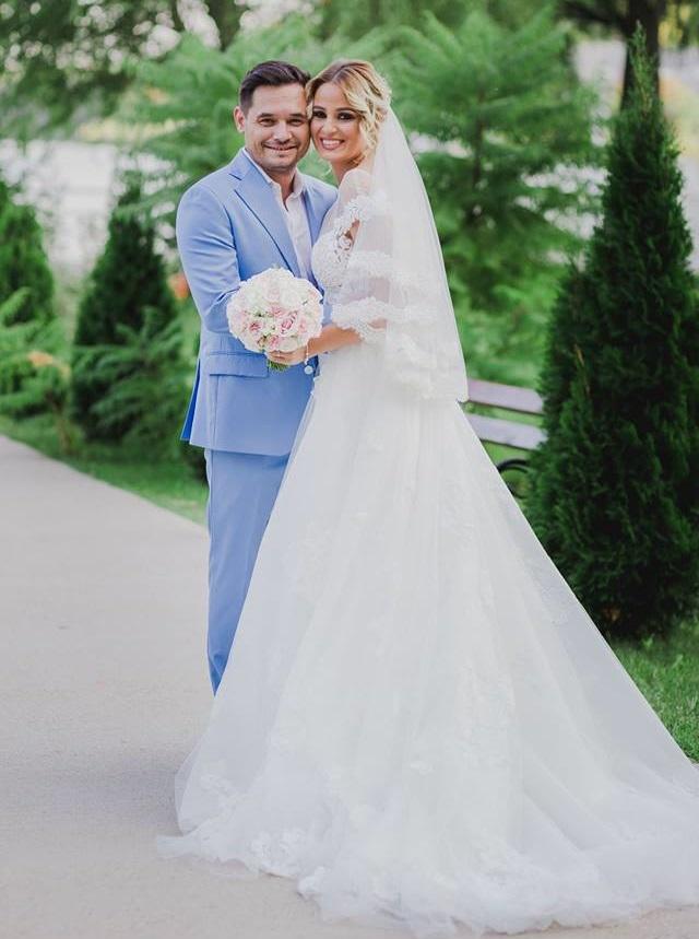 Mihai Rait Dragomir-Dorel din las fierbinti si sotia sa