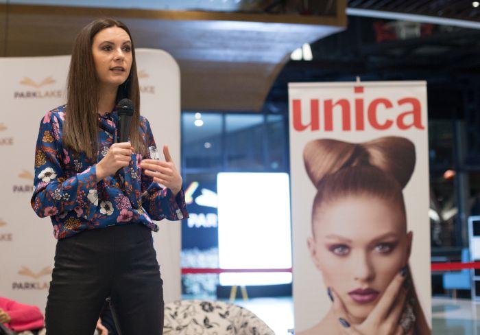 Andreea Mihaela Retea, bogger, la Atelierele de Idei Unica