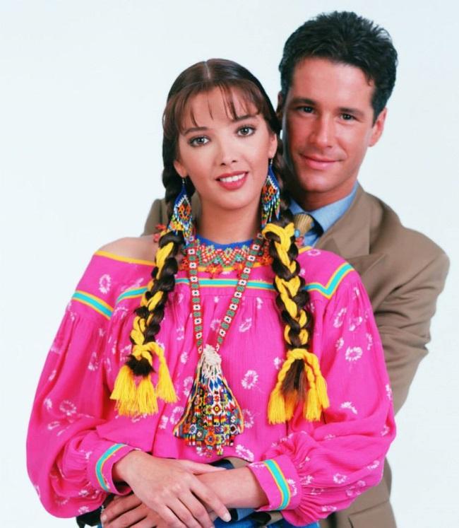 Adela Noriega si Fernando Carillo in telenovela Maria Isabel