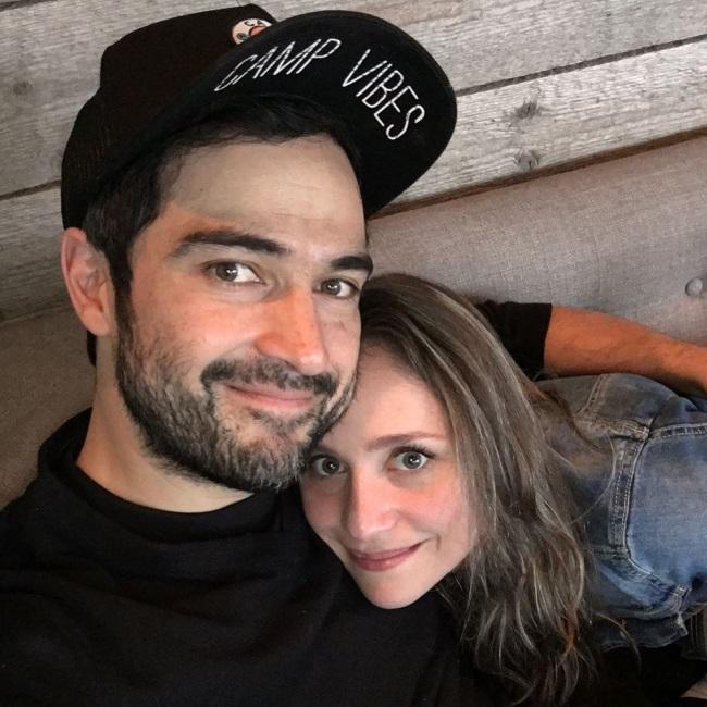 Alfonso Herrera si sotia sa, Diana Vazques