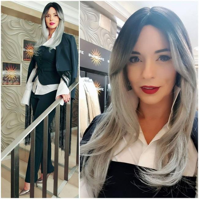 Andreea Marin blonda