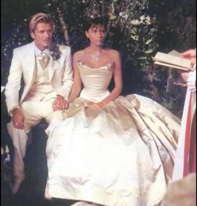 David si Victoria Backham in ziua nuntii
