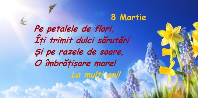 Felicitari de 8 martie 1