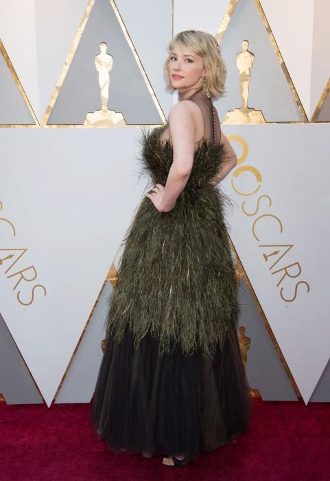 Haley Bennett la Premiile Oscar 2018