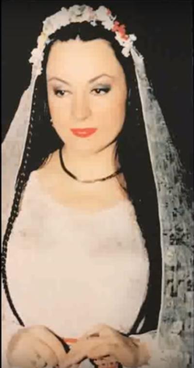 Maria Dragomiroiu in tinerete