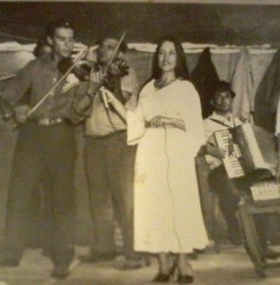 Maria Dragomiroiu la 29 de ani