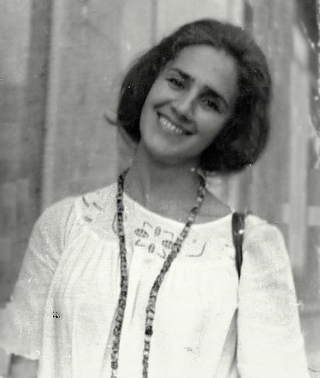 Sofia Vicoveanca in tinerete