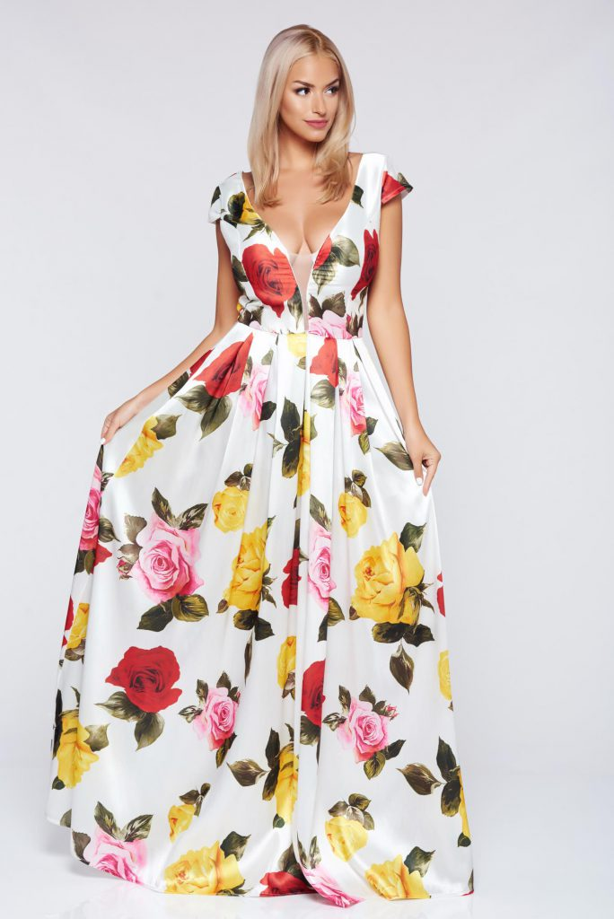 Modele De Rochii Cu Imprimeuri Florale Pentru Sezonul Primăvară Vară