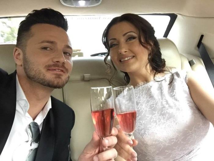 Gabriela Cristea si Tavi Clonda - poze nunta
