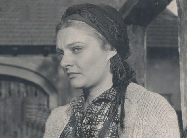 Ileana Stana Ionescu in tinerete 1