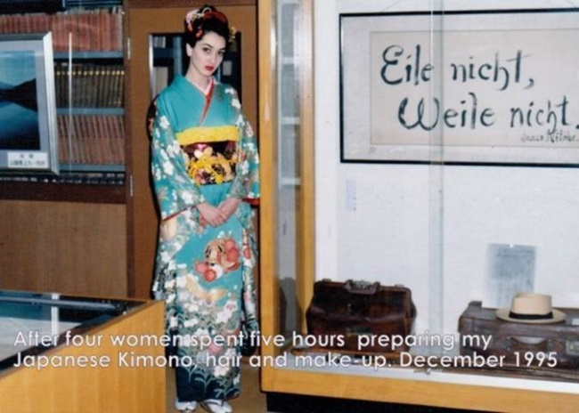 Ioana Lee in Japonia