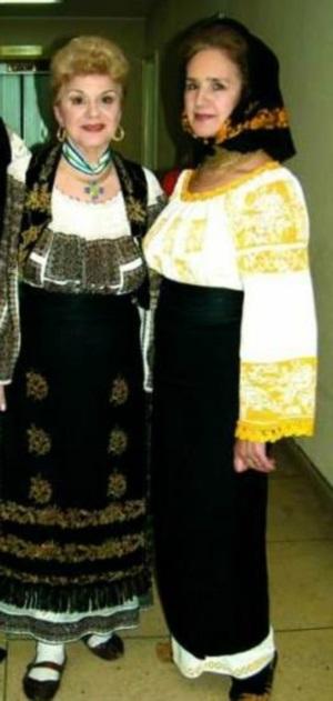Ionela Prodan si Sofia Vicoveanca