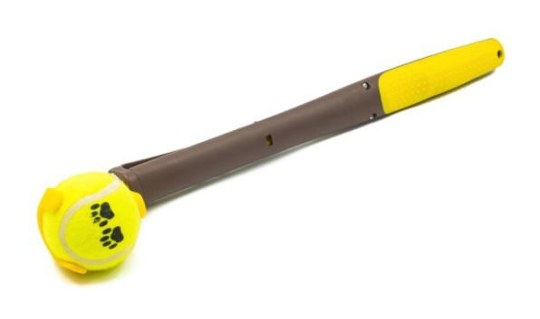 Accesorii și jucării pentru câini-Lansator de mingi cu mâner