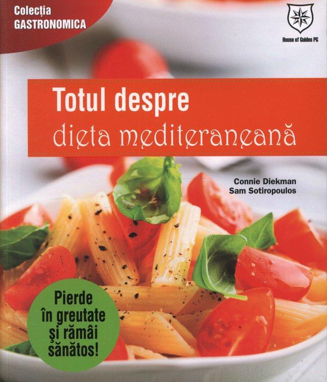 Cărți de diete pentru slăbit-carte despre dieta mediteraneană