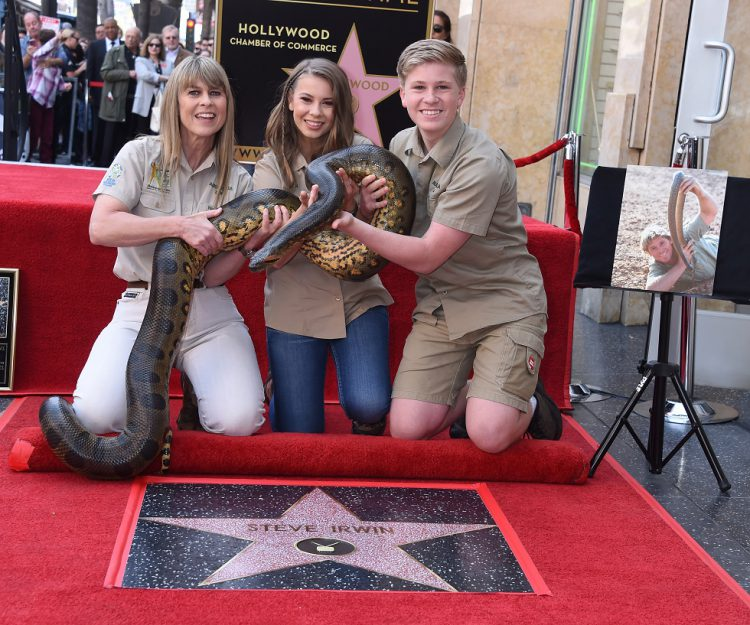 Steve Irwin Hollywood Walk of Fame Ceremony - USA