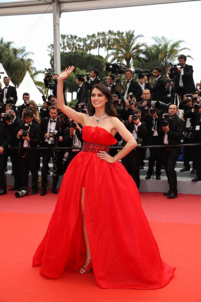 Catrinel Menghia la Cannes 2018