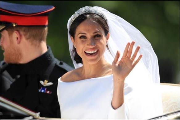 Ce machiaj a purtat Meghan Markle la nunta ei
