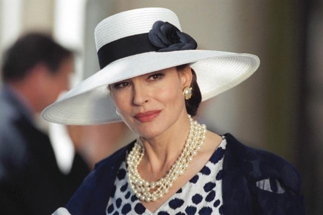 Fanny Ardant interpretând rolul lui Maria Callas