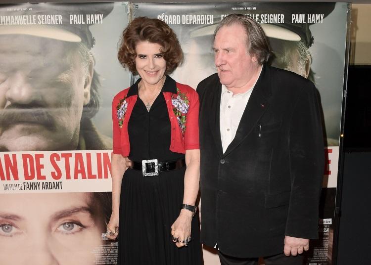 Fanny Ardant si Gerard Depardieu